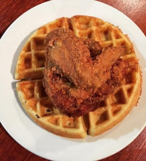 Fried Chicken and Waffles Amy Ruth's