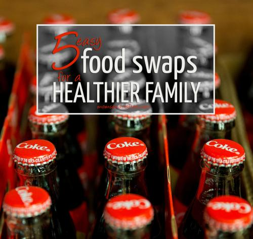 These 5 easy food swaps will help your family eat healthier without the constant battle! These are actual tips that my family implemented successfully for healthy eating and easier dieting