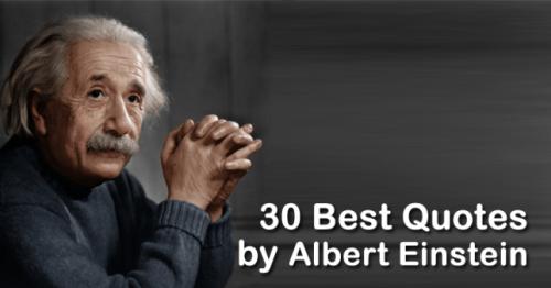 30 Best Quotes By Albert Einstein Ladies Lifestyle