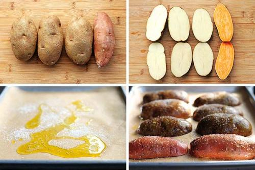 how to bake a potato