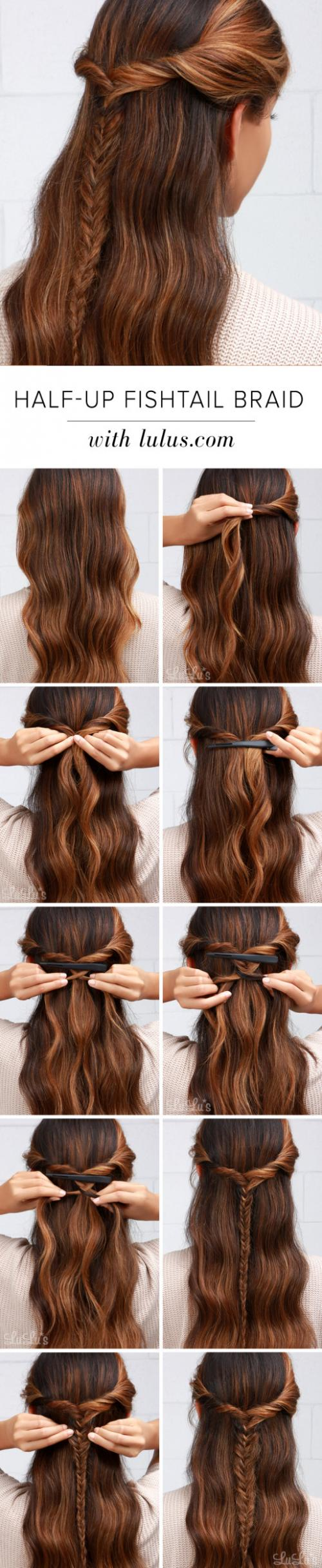 11 Quick And Easy Ways To Style Your Hair In Less Than 2 Minutes, The Right Tips For your Busy Mornings